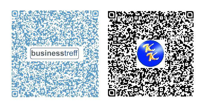 QR Code Beispiele mit Logo QR Code für Ihre Visitenkarten Flyer Prospekte Web Auftritt