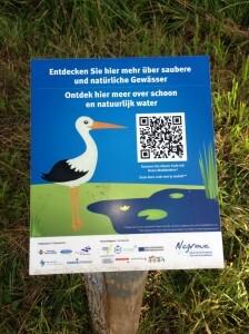 QR CODE für Besucher eine Naturschutzgebietes