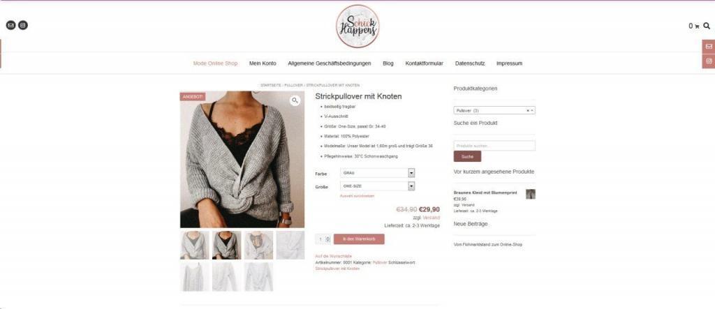 Schick Happens Mode Shop