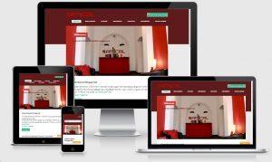 Webseiten für mobile Geräte wie iPhone, Tablet und Smartphone durch responsive Webdesign von IT BergischesLand Wuppertal