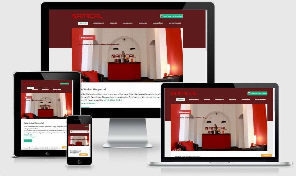 Webseiten Optimierung mobile Geräte