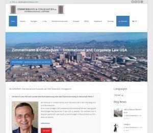 Wordpress Webdesign mit Responsive für mobile Responsiv und Mehrsprachigkeit