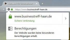 Anzeige Firefox HTTPS SSL Webseite