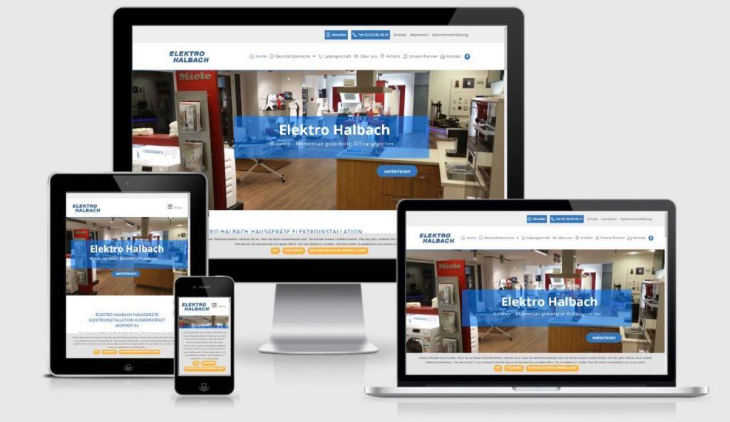 Responsive Webseite mit WordPress – für Elektro Unternehmen