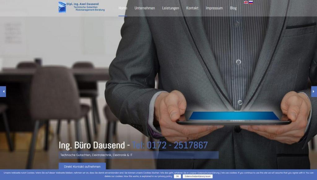 Responsive Webdesign, mobile Benutzerfreundlichkeit Dausend Wuppertal