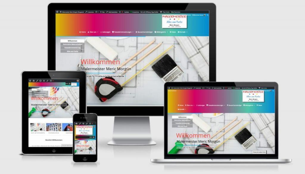 WordPress Realisierung Malermeister
