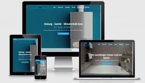 WordPress Realisierung für Meisterbetrieb Sanitär, Heizung Kuru