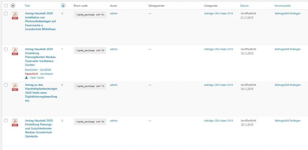 WordPress Download Manager 100% Empfehlung