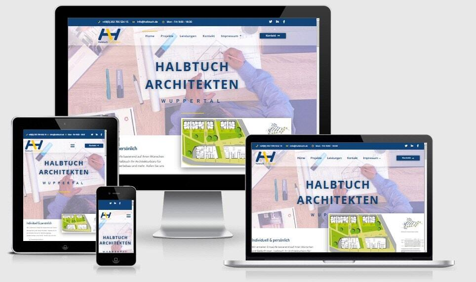 Architekten Architektenbüro-WordPress- WordPress Responsive Webdesign